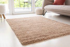 Design Shaggy light beige (bézs) szőnyeg 80x150cm