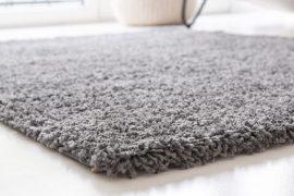 Design Shaggy light gray (világosszürke) szőnyeg 60x110cm
