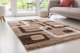 Design Shaggy 65 light beige (bézs) szőnyeg 60x220cm