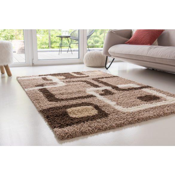Design Shaggy 65 light beige (bézs) szőnyeg 120x170cm