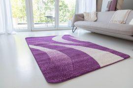 Design 76 purple (lila) szőnyeg 80x150cm