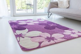 Design 83 purple (lila) szőnyeg 200x290cm