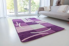 Design 84 purple (lila) szőnyeg 80x250cm