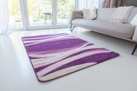 Design 85 purple (lila) szőnyeg 80x150cm