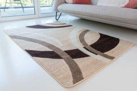 Design 86 beige (bézs) szőnyeg 80x250cm