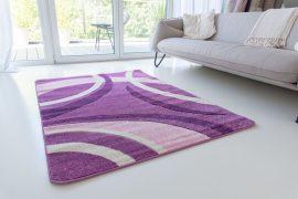 Design 86 purple (lila) szőnyeg 60x110cm