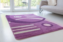 Design 87 purple (lila) szőnyeg 60x110cm