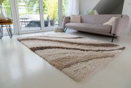 Design Shaggy 77 cream (krém) szőnyeg 160x230cm
