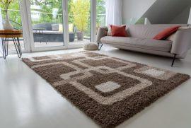 Design Shaggy 78 brown (barna) szőnyeg 60x220cm