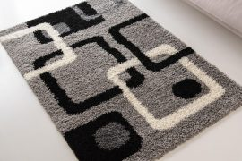 Design Shaggy 78 light gray (világosszürke) szőnyeg 80x150cm
