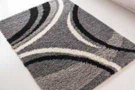 Design Shaggy 79 light gray (világosszürke) szőnyeg 80x150cm