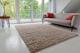 Design Shaggy karamell szőnyeg 160x230cm