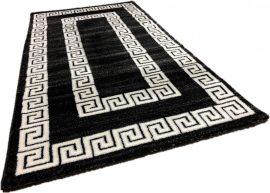 Italy 12 black white (fekete-fehér) szőnyeg 200x290cm