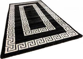 Italy 12 black white (fekete-fehér szőnyeg) 80x150cm