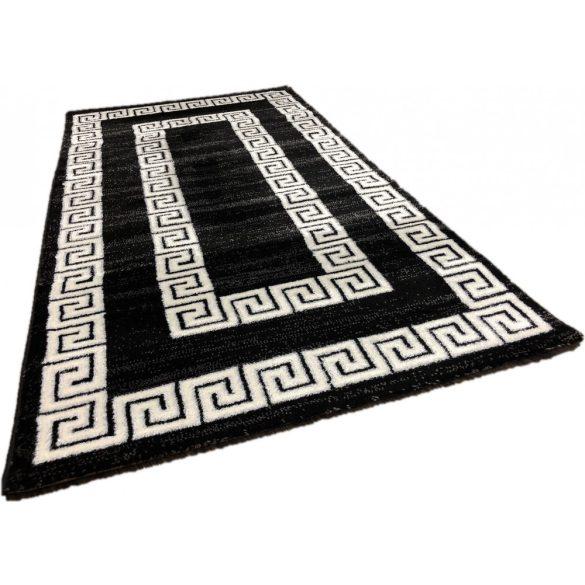 Italy 12 black white (fekete-fehér) szőnyeg 80x250cm