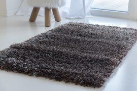 Kairó shaggy szőnyeg brown (barna)  80x250cm