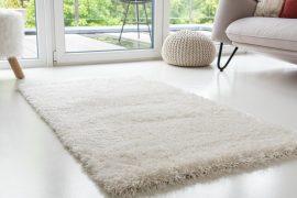 Kairó shaggy szőnyeg white (fehér)  80x250cm