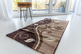 Kalocsa 727 brown (barna) szőnyeg 80x150cm