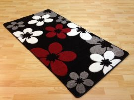 London Blossom (black) szőnyeg 160x220cm Fekete