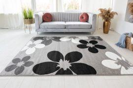 London Blossom (gray) szőnyeg 160x220cm Szürke