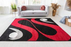 London Breath (black) szőnyeg 60x110cm Fekete