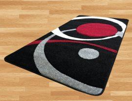 London Circle (black) szőnyeg 60x110cm Fekete