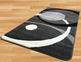 London Circle (gray) szőnyeg 60x220cm Szürke