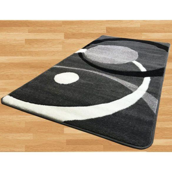 London Circle (gray) szőnyeg 120x170cm Szürke