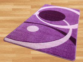 London Circle (purple) szőnyeg 200x280cm Lila
