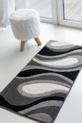 London csepp mintás gray (szürke) szőnyeg 60x220cm