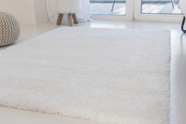 Luxury Shaggy white (hófehér) 60x220cm szőnyeg
