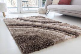 Fontana Shaggy (vizon) 5cm 3D szőnyeg 60x220cm Barna