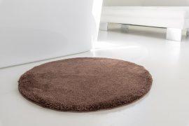 Powder vajpuha chocholate kerek szőnyeg 80cm