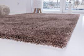 Powder Shaggy dark beige (sötétbézs) szőnyeg 60x220