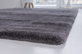 Powder Shaggy (dark gray) szőnyeg 40x70cm Sötétszürke