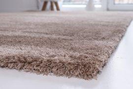 Powder Shaggy light beige (világos bézs) szőnyeg 60x220cm