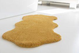 Shaggy mustár vajpuha poszt 67x110cm