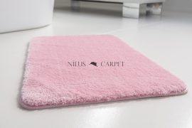 Shaggy puder pink Vajpuha 1 részes fürdőszobaszőnyeg 50x80cm