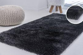 Elephant Luxus Shaggy antracit (szürke) szőnyeg 120x170cm