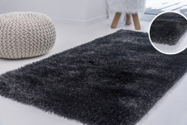 Elephant Luxus Shaggy antracit (szürke) szőnyeg 200x290cm