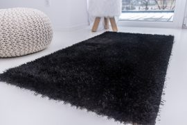 Elephant Luxus Shaggy black (fekete) szőnyeg 133x195cm