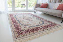 Million 07 red beige (bézs/piros) perzsa szőnyeg 80x150cm
