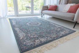 Million 04 blue (kék) perzsa szőnyeg 80x250cm