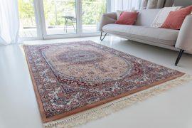 Million 013 rose (terra)Perzsa szőnyeg 200x290cm