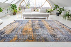 Exkluzív Colaris Corten Mustar Gray (mustar-szürke) szőnyeg 100x200cm