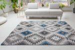 Premium Hali 3874 blue-l.mink (kék-mink) szőnyeg 60x110cm