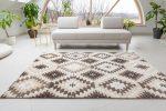 Premium Hali 3874 d.brown-l.beige (barna-bézs) szőnyeg 60x110cm
