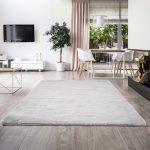 Soft Touch gray (világos szürke) szőnyeg 160x230cm