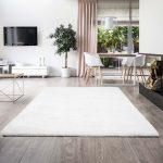 Soft Touch ivory (törtfehér) szőnyeg 120x170cm