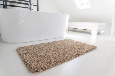 Shaggy soft beige (bézs) kerek szőnyeg 80cm Szônyeg, moder